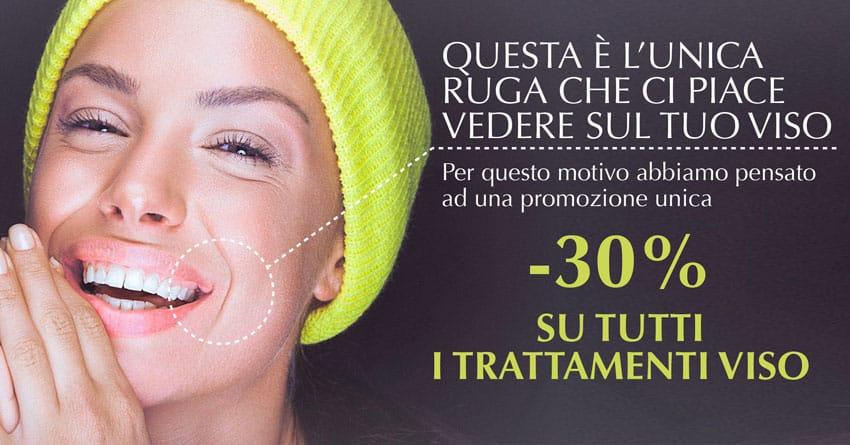 promozione trattamenti viso catania