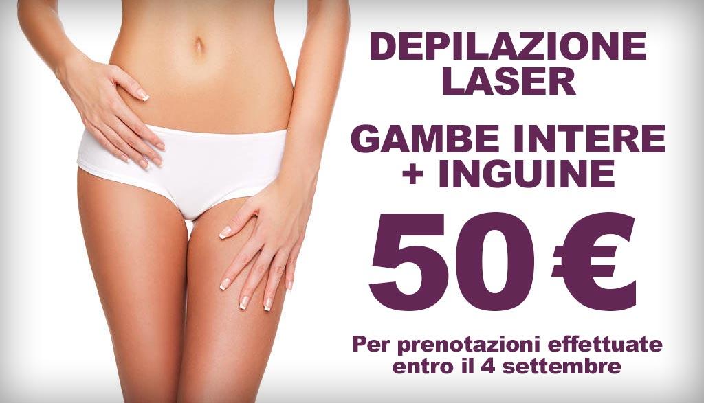Offerta depilazione laser Catania